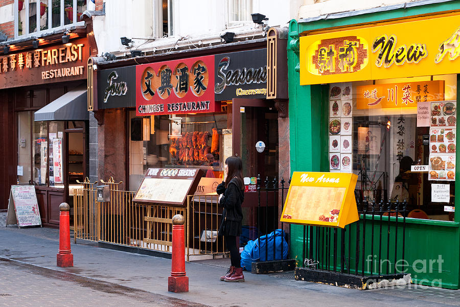 London Photograph - London Chinatown 03 by Rick Piper Photography