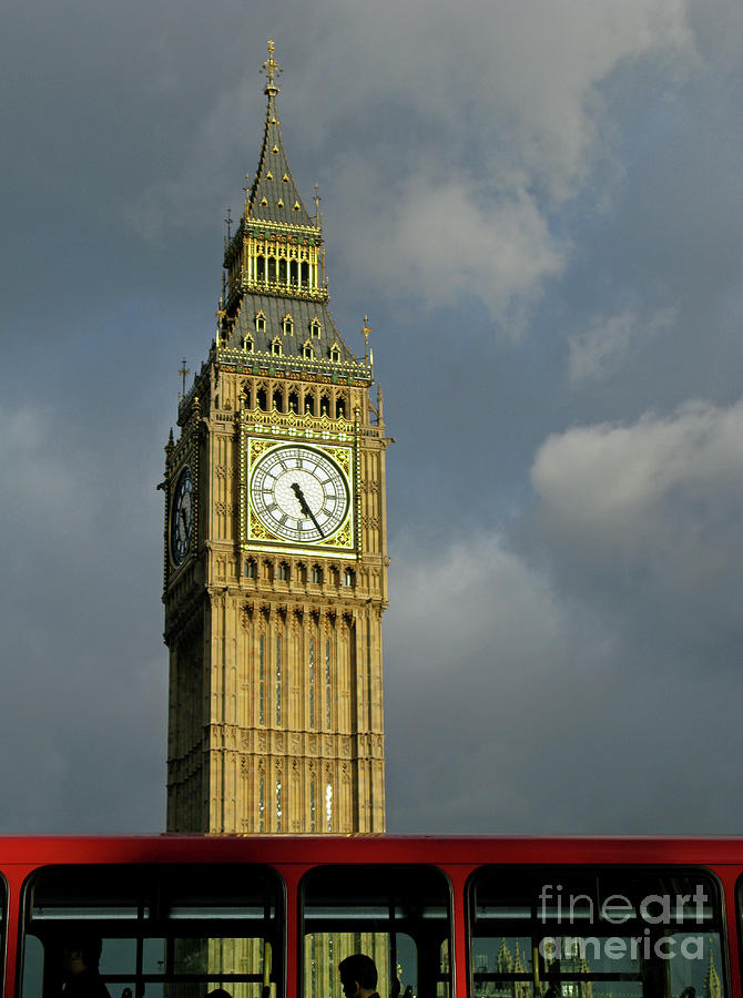 London Photograph - London Icons by Ann Horn