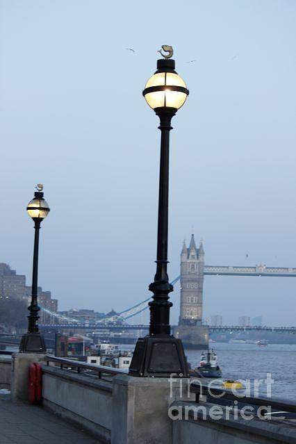 London Lamp Post Photograph by Victoria Moraru
