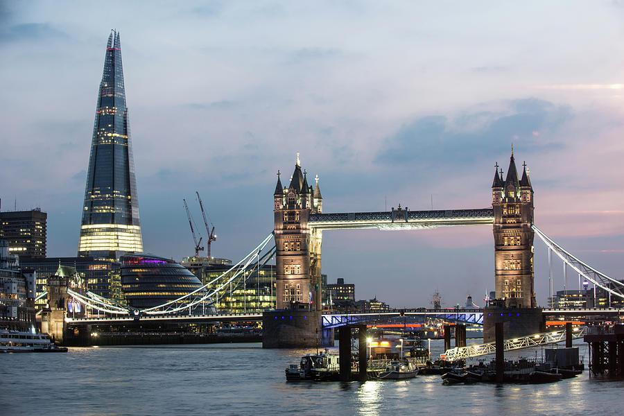 London Landmarks Photograph by Imagegap