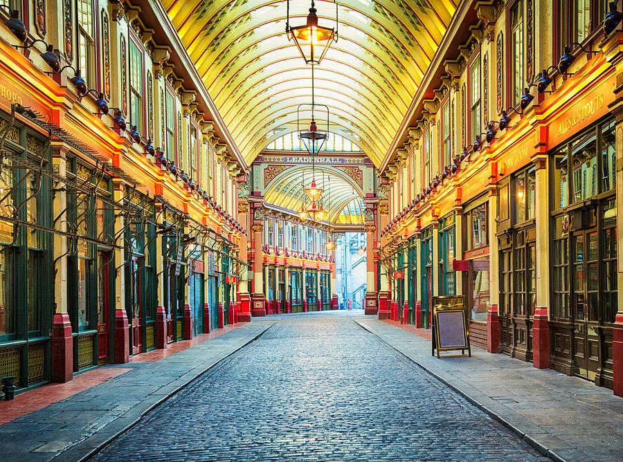 London Leadenhall Hall Market Street Arcade Photograph by NicolasMcComber