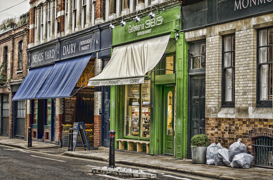 London Shop Fronts Photograph By Heather Applegate