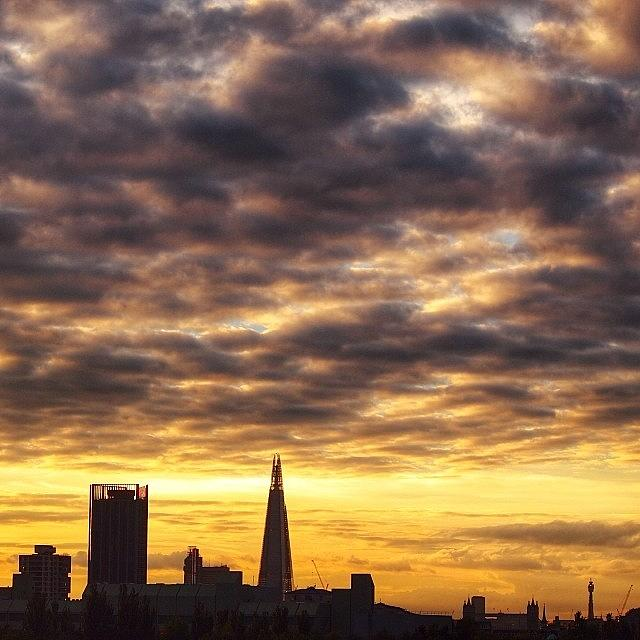 London Photograph - London Skyline : Summer Nights 2 by Neil Andrews