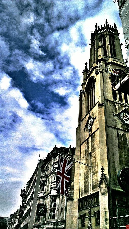 London Photograph - London skyline by Chris Drake