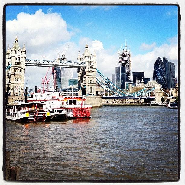 Skyline Photograph - #london #skyline #gerkin #towerbridge by Mark Harris