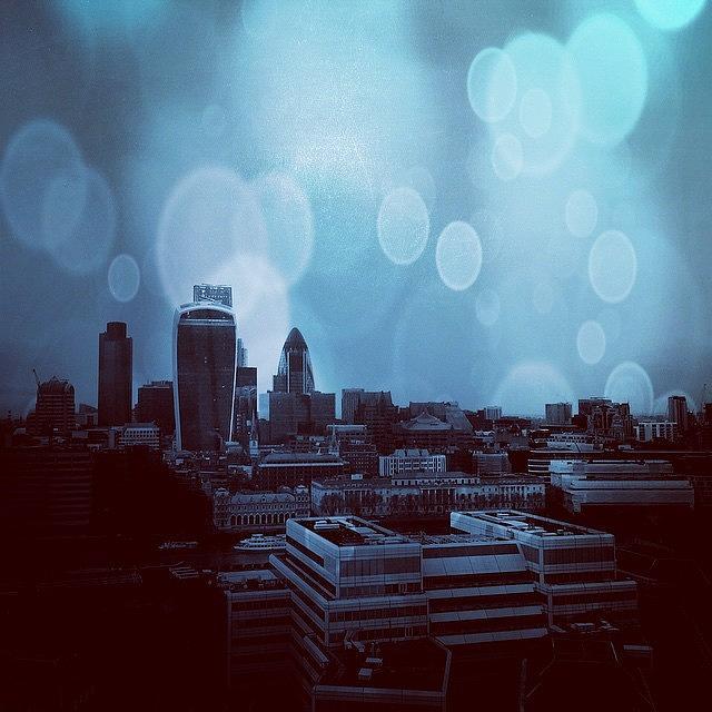 London Photograph - London Skyline by Imran Raja