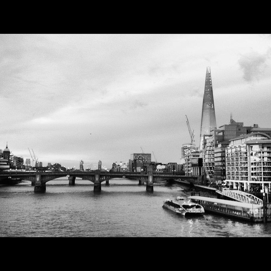 Horizontal Landscape Photograph - London Skyline by Maeve O Connell