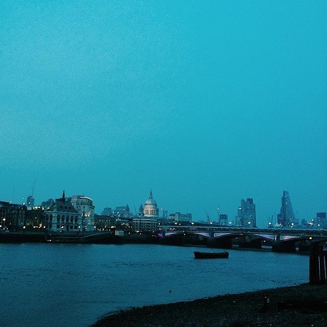 Stpauls Photograph - London Skyline #vscocam by Liam Daly