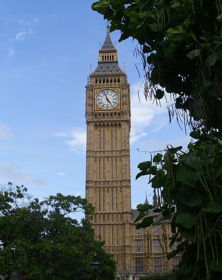 Big Ben Photograph - London by Sonya Ragyovska