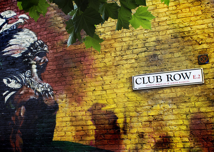 Shoreditch Photograph - London Street Art I by Ed Pettitt