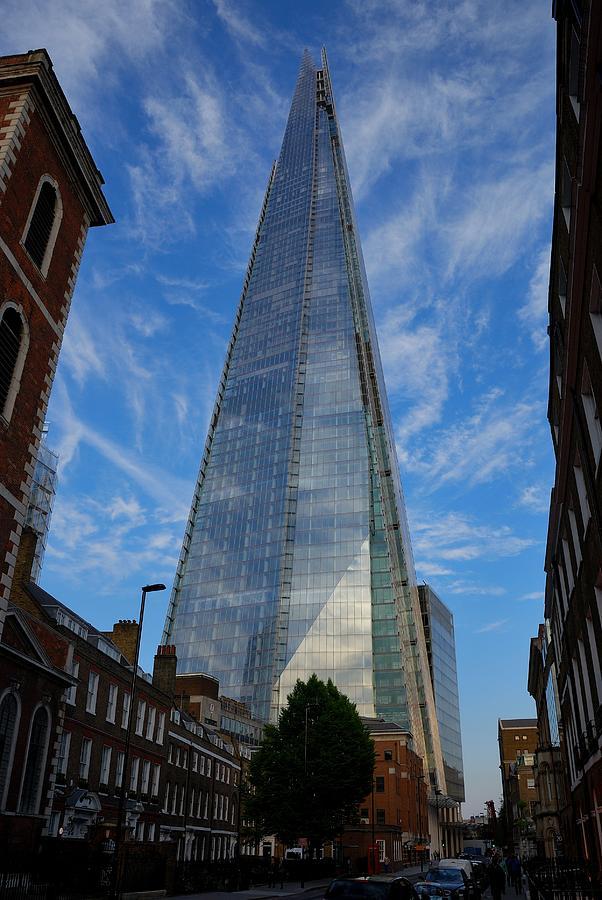 London Photograph - London The Shard by Steven Richman