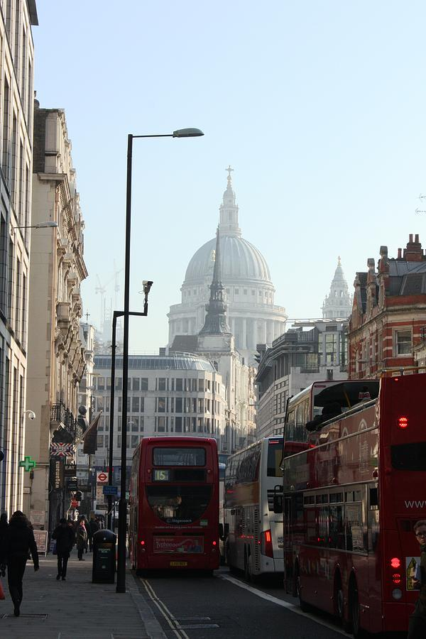London Photograph - London Town by Pat Purdy