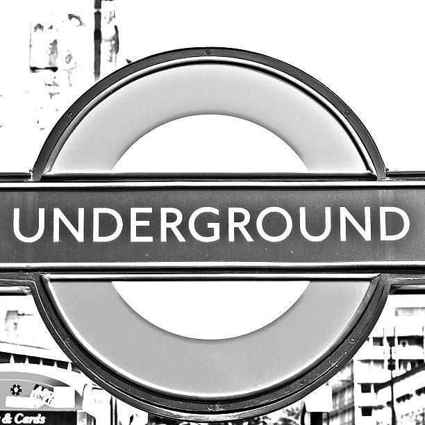 Beautiful Photograph - #london #tube #underground by Georgia Fowler