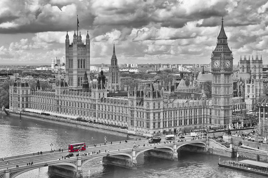 British Photograph - London Westminster by Melanie Viola