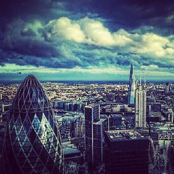 Skyline Photograph - #london#skyline# by Aaron Eckersley