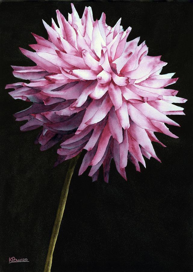 Lone Dahlia by Ken Powers