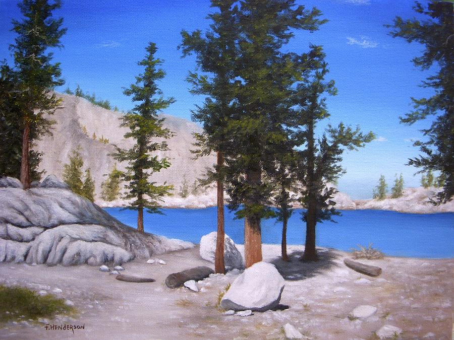 Lone Pine Lake by Francine Henderson