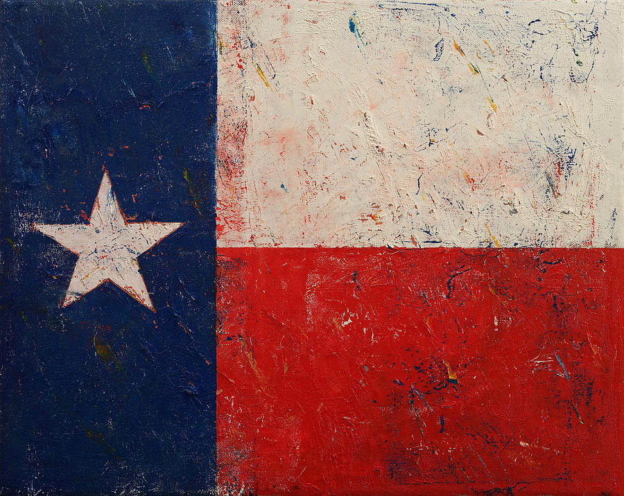 Texas Painting - Lone Star by Michael Creese