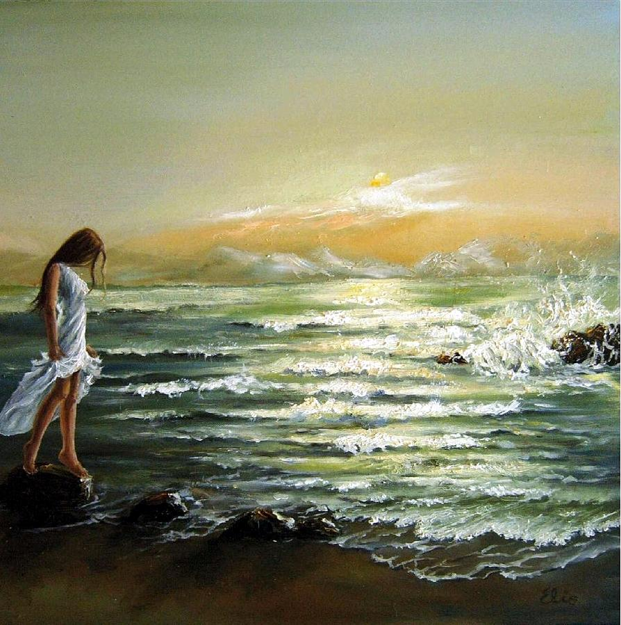 Famous Painting Of The Beach