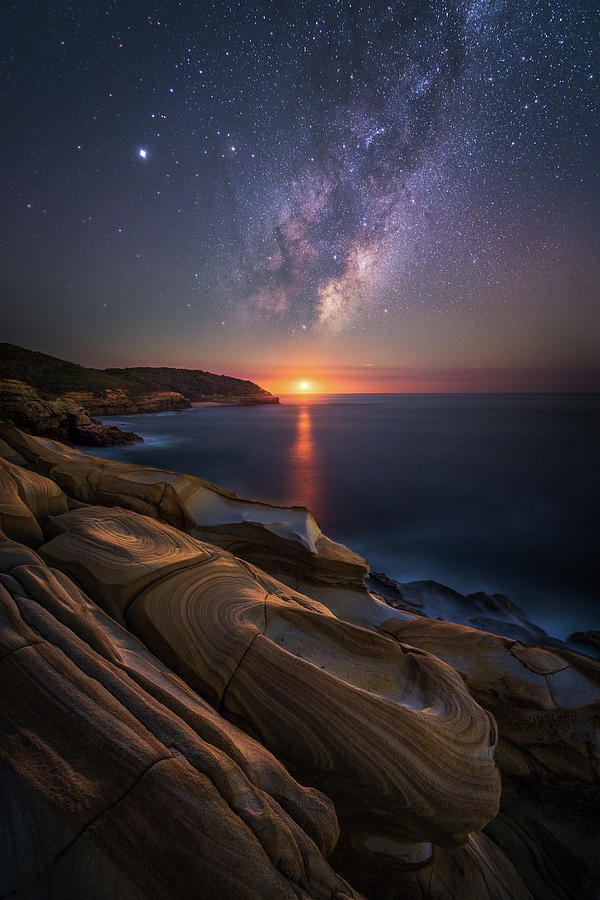 Landscape Photograph - Lonely Planet by Tim Fan