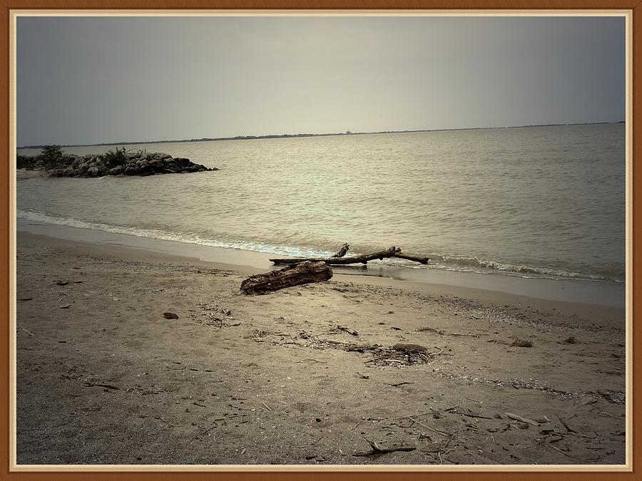 Sea Photograph - Lonely Seashore by Anandi Godse