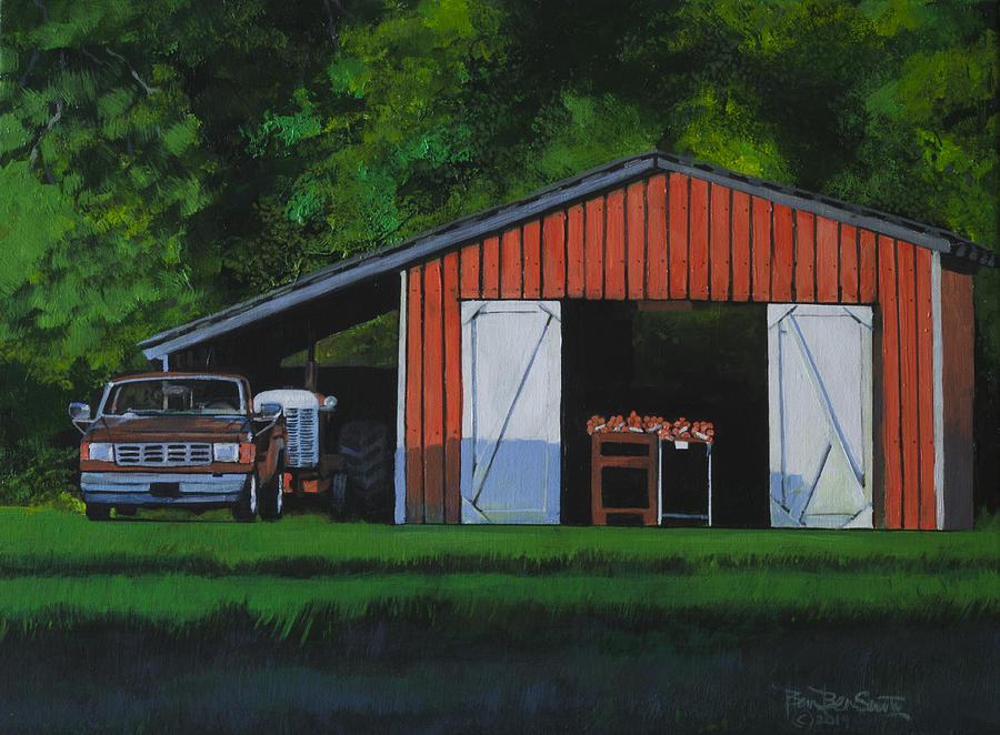 Truck Painting - Lonesome Road Satsumas by Ben Bensen III