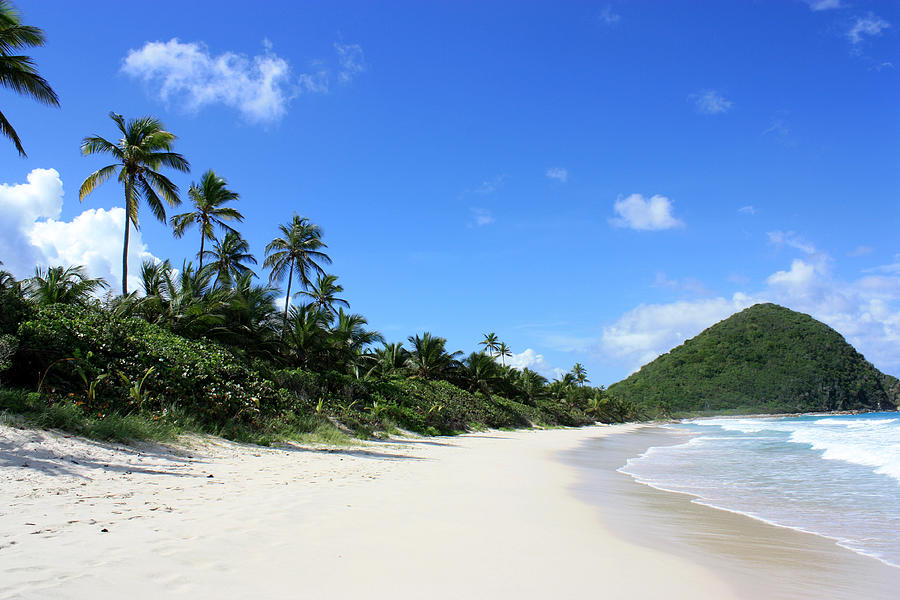 Landscape Photograph - Long Bay Tortola by Laura Hiesinger