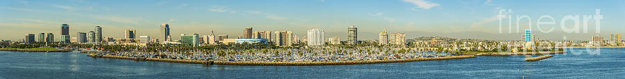 Angeles Photograph - Long Beach California by Clear Sky Images