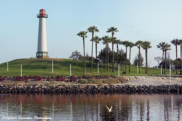 Long Beach Photograph - Long Beach Lighthouse by Steven Robert Thompson