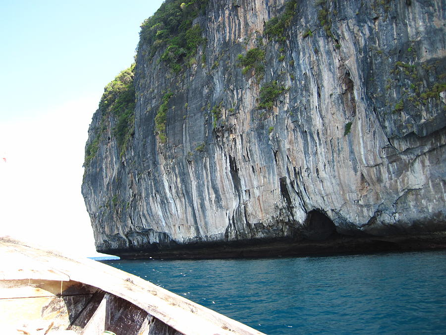 Phi Photograph - Long Boat Tour - Phi Phi Island - 011391 by DC Photographer