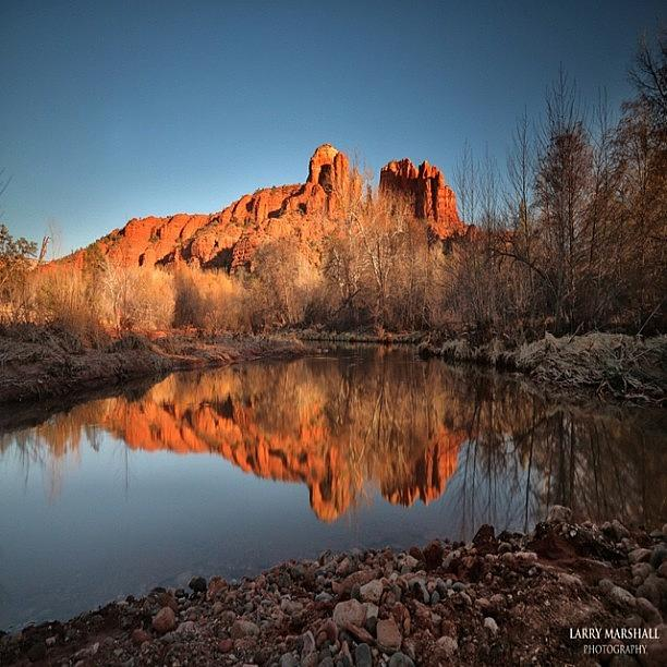 Long Exposure Photo Of Sedona Photograph by Larry Marshall