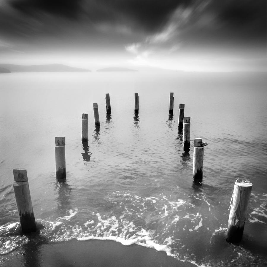 Long Exposure Photograph - Long Silence by Taylan Apukovska