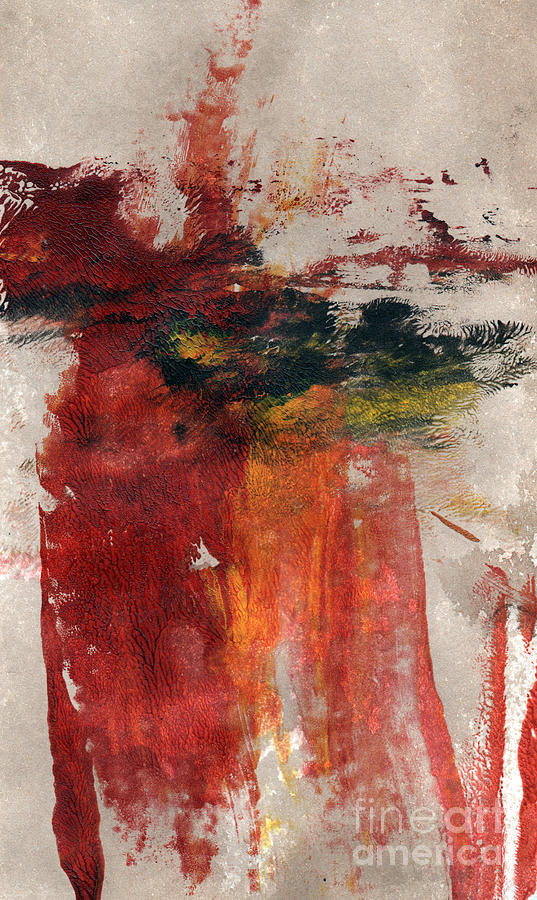 Abstract Painting Painting - Long Time Coming by Linda Woods