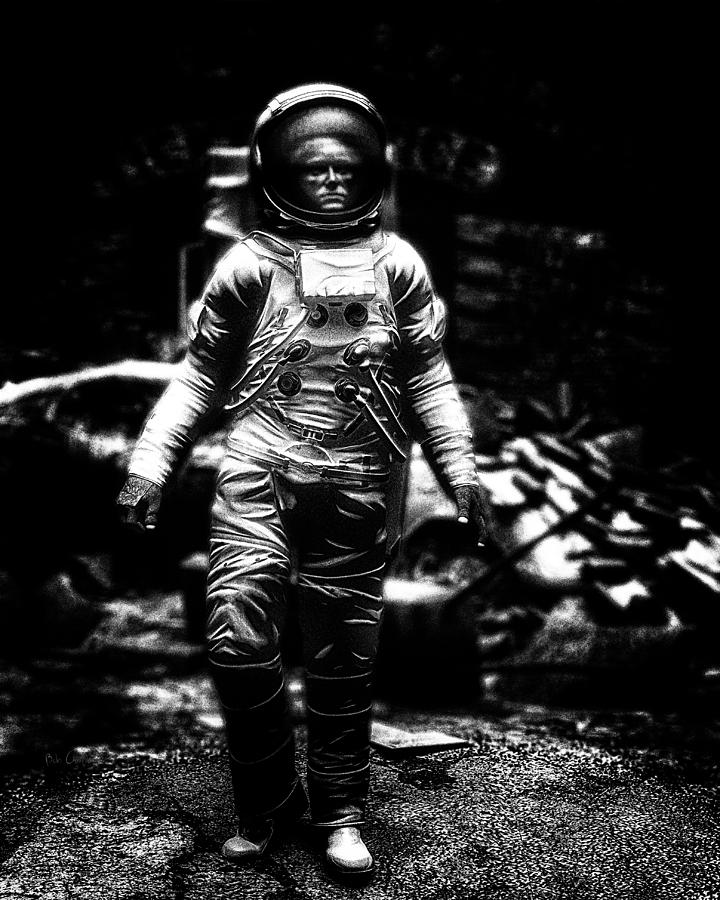 Astronaut Photograph - Long Time Gone by Bob Orsillo