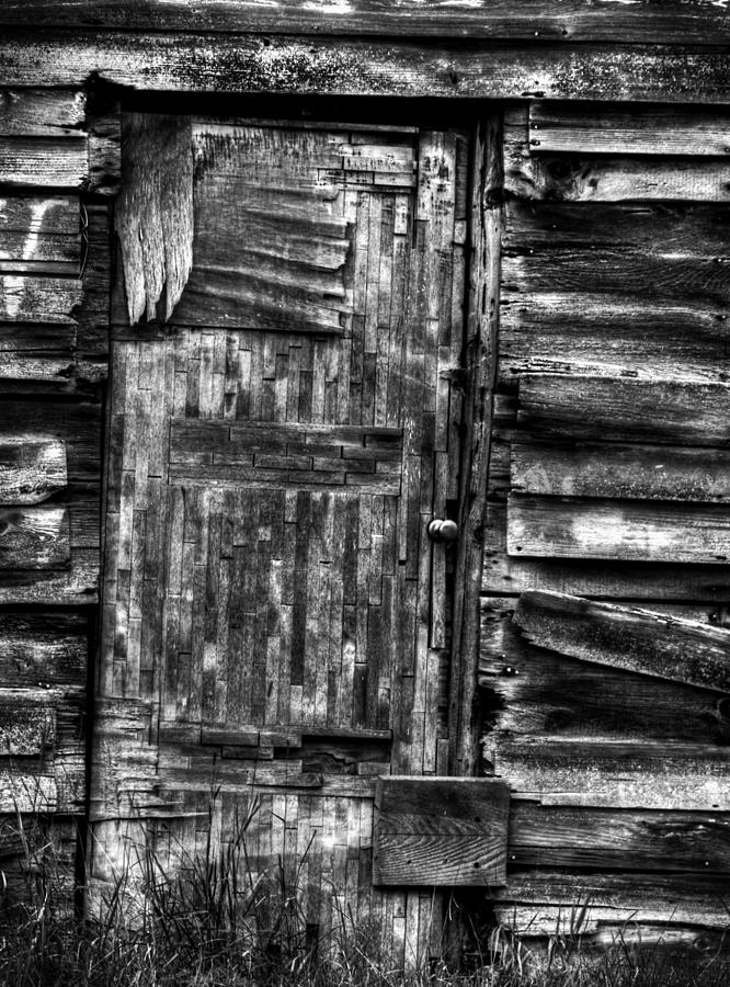 Old Wooden Door Photograph - Long Time My Friend by Thomas Young