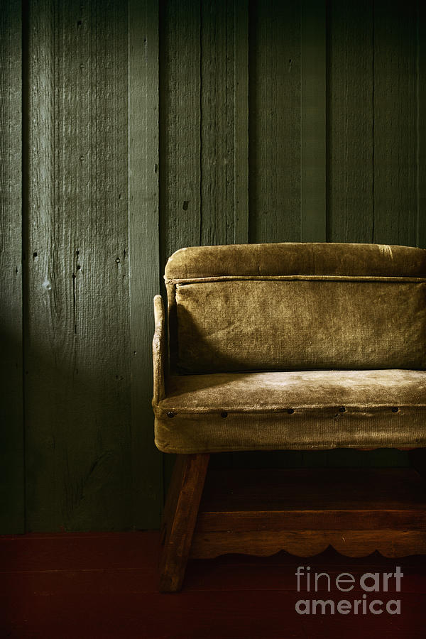 Chair Photograph - Long Wait by Margie Hurwich