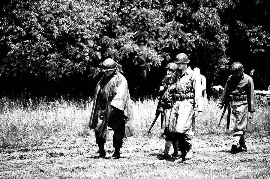 World War Ii  - Long Walk by Jame Hayes