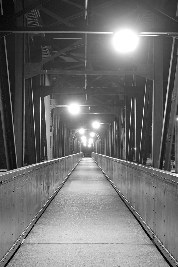 Bridge Photograph - Long Walking Bridge by David Halter