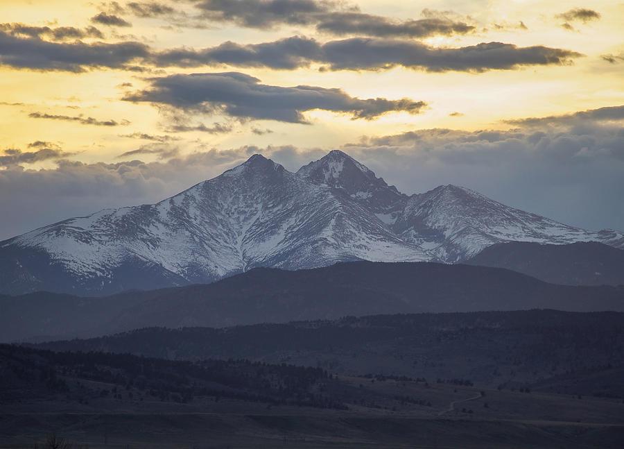 Longs Photograph - Longs Peak 3 by Aaron Spong
