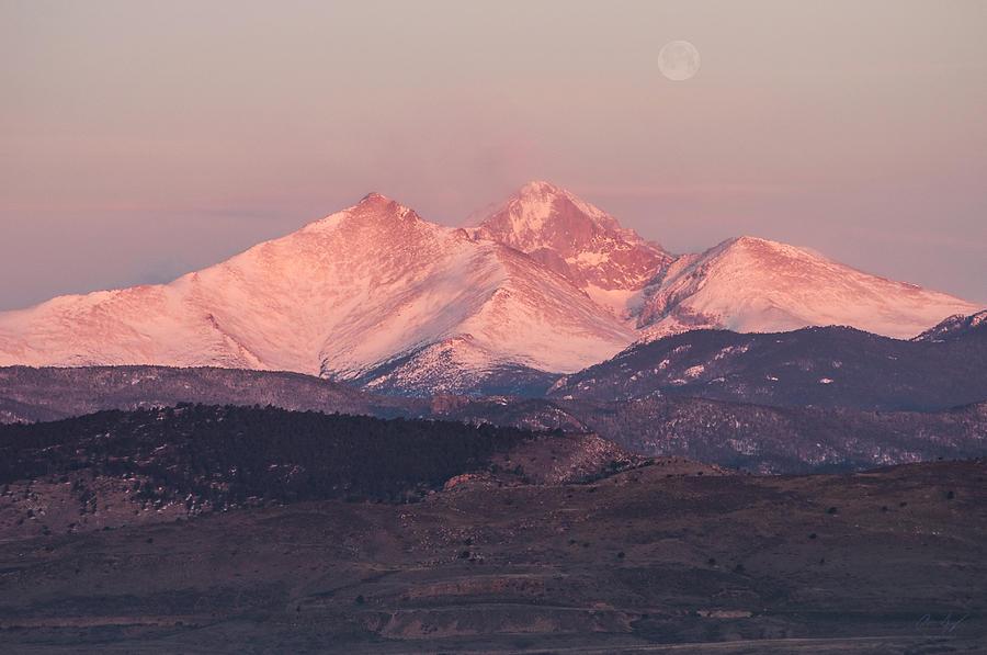 Longs Photograph - Longs Peak 4 by Aaron Spong