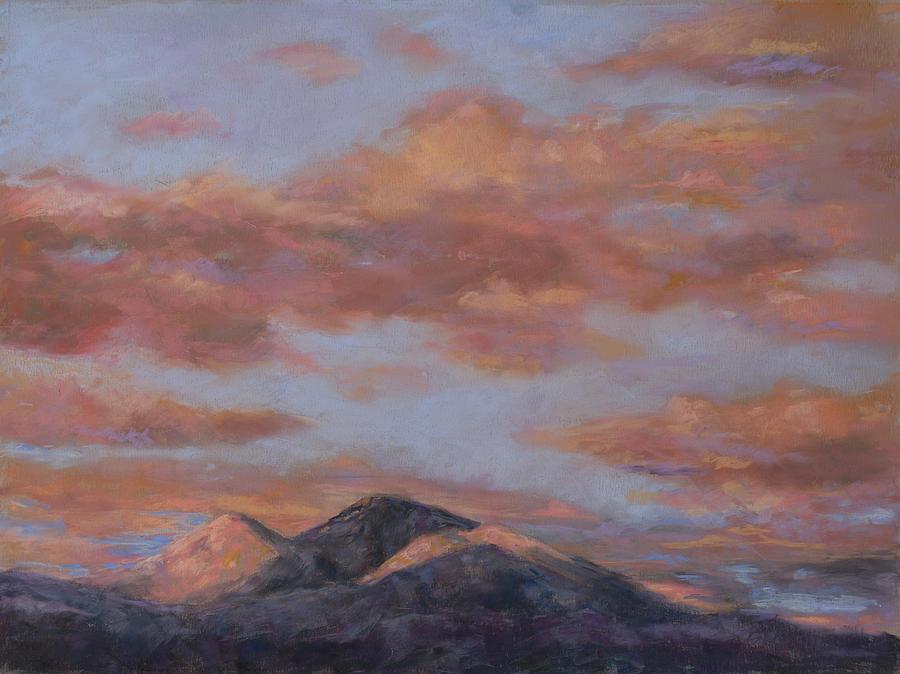 Longs Peak Sunrise Painting