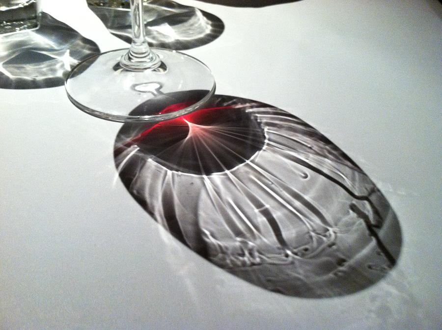Wine Photograph - Look At Those Legs by Anna Villarreal Garbis