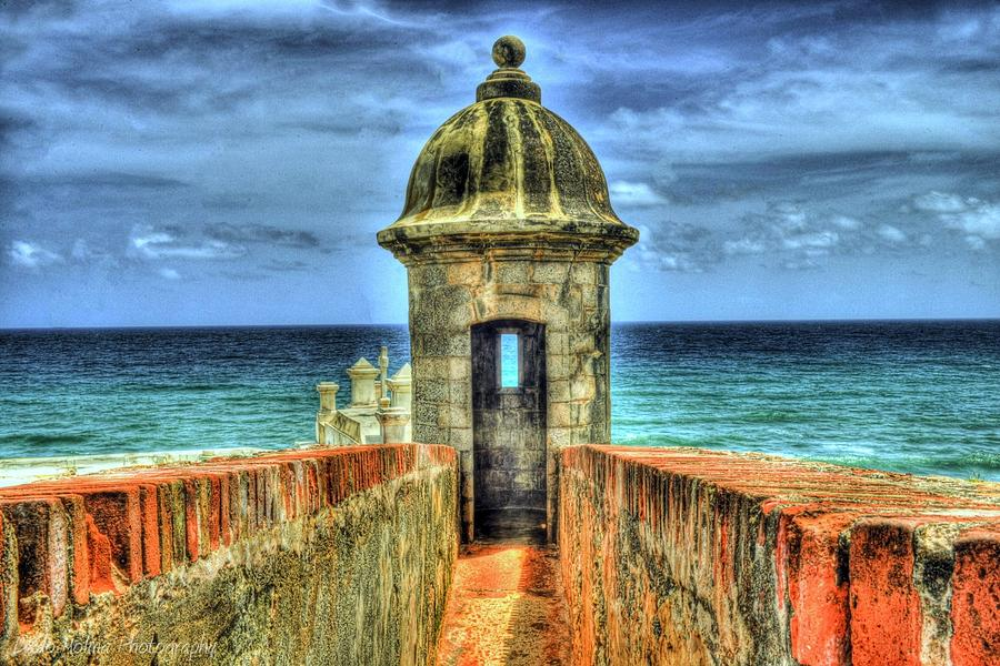 Old San Juan Photograph - Look Out by Dado Molina