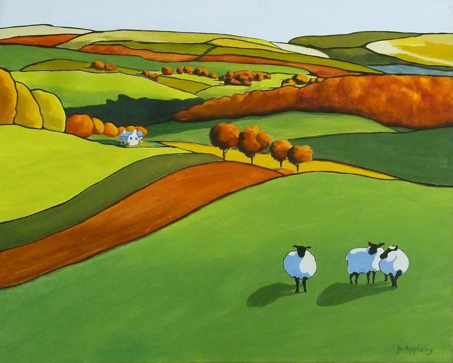 Looking at Ewe by Jo Appleby