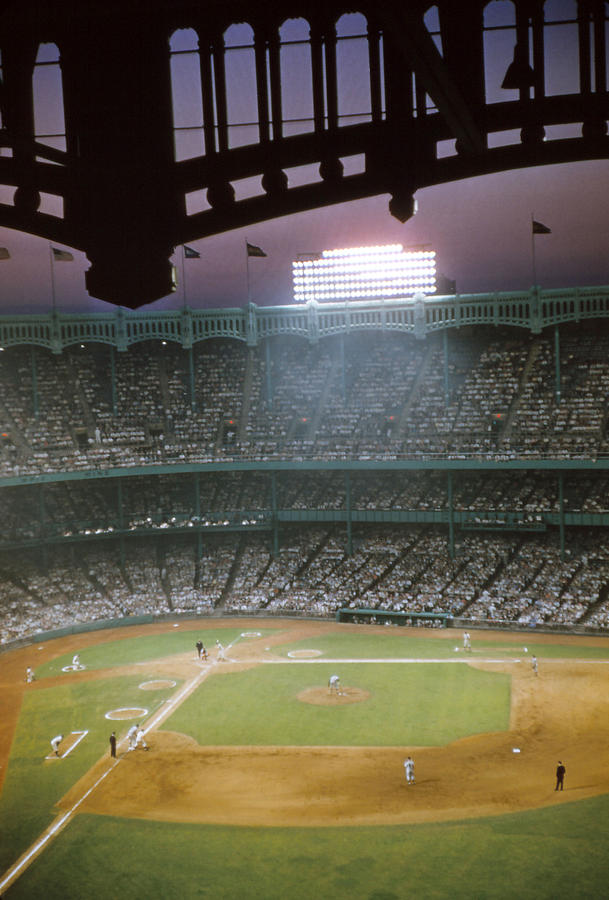 Marvin Newman Photograph - Brillant Yankee Stadium by Retro Images Archive