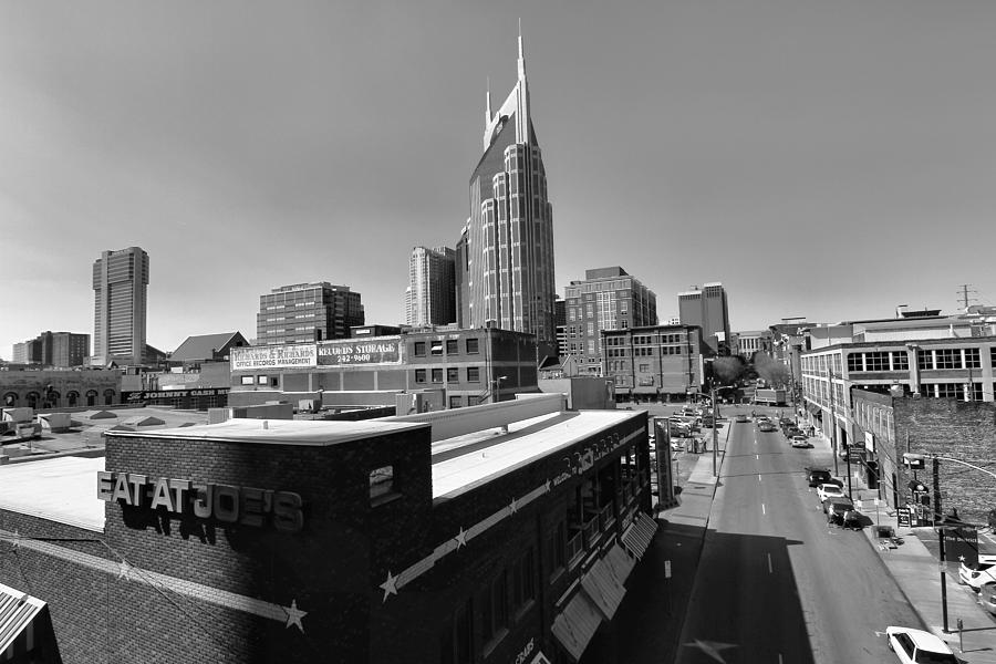 Looking Down On Nashville Photograph - Looking Down On Nashville by Dan Sproul