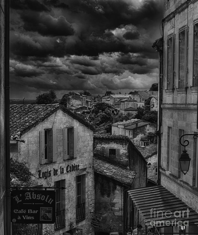 Wine Photograph - Looking Down On Saint Emillion by Nigel Jones