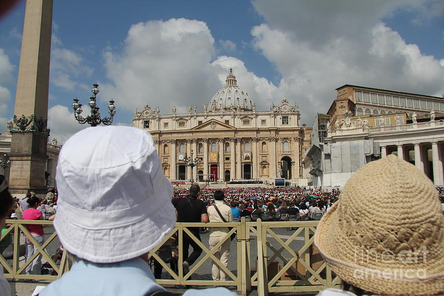 Looking For The Pope Photograph