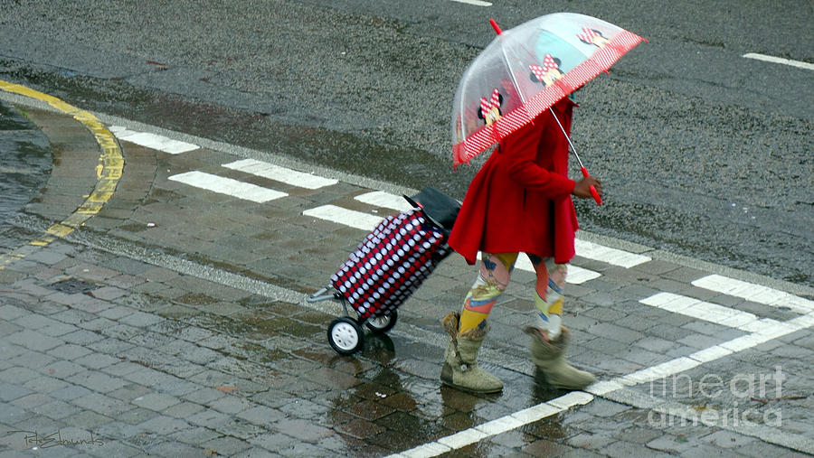 Rain Photograph - Looking On The Bright Side by Pete Edmunds