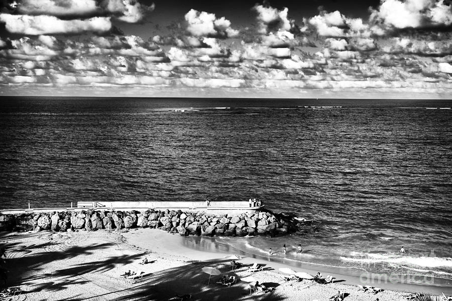 Ocean Photograph - Looking Out Into The Ocean by John Rizzuto
